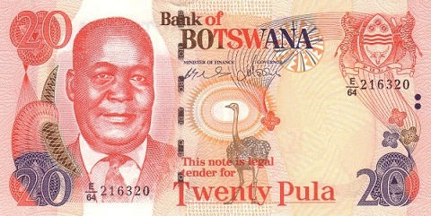 Botswana - Currency