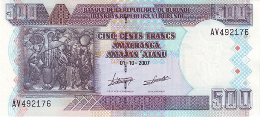 Burundi - Currency