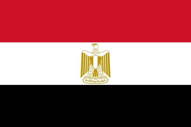 Egypt  - Flag of Egypt