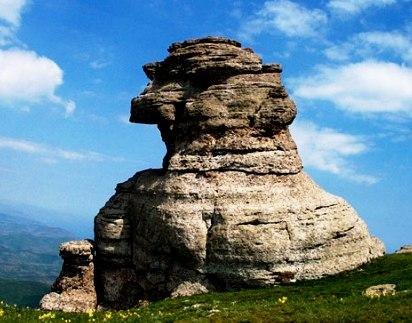 The Demerdzhi Mount, Ghost Valley - Chaos rock