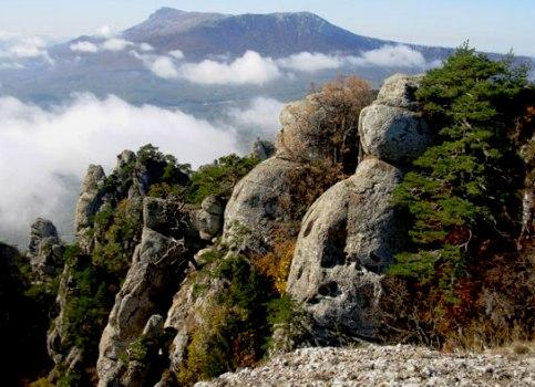 The Demerdzhi Mount, Ghost Valley - Stone shapes