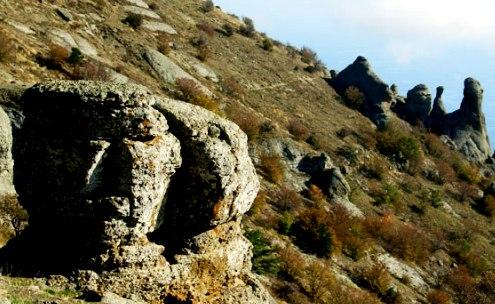 The Demerdzhi Mount, Ghost Valley - Unique relief