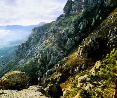 The Demerdzhi Mount, Ghost Valley - Wonderful landscape