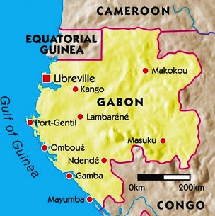 Images Gabon Map Of Gabon 8919