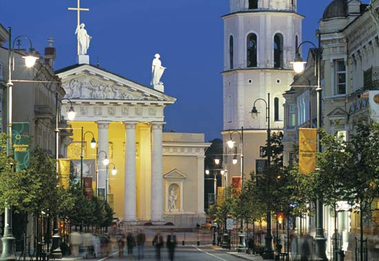 Vilnius - Beautiful architecture