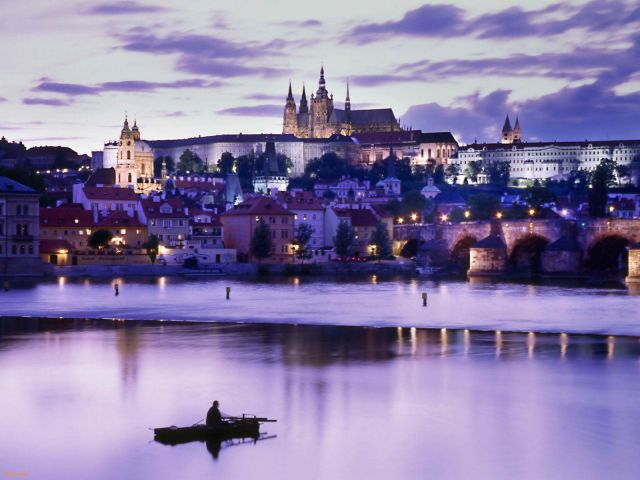 Prague - Prague at night