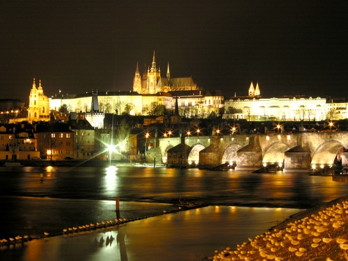 Prague - Prague view at night