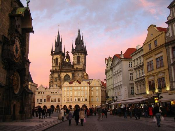 Prague fairytale destinations in the world for Prague center