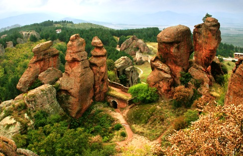 The Belogradchik Town - Spactacular view