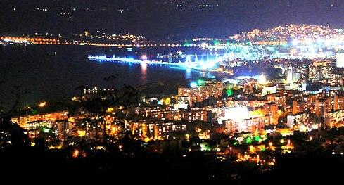 Varna - Night view
