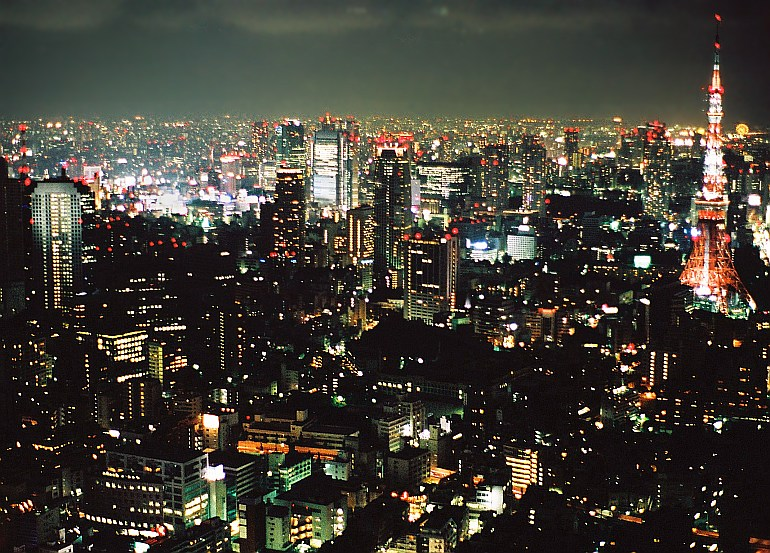 Tokyo - Tokyo view by night