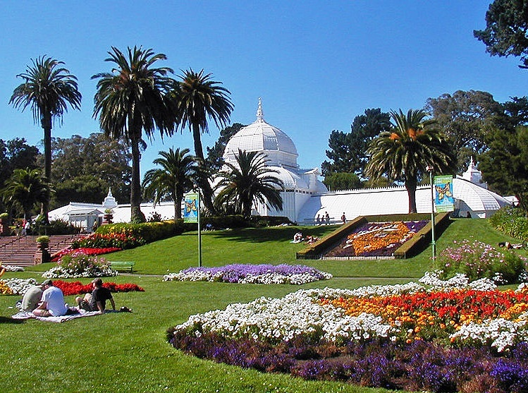 Golden Gate Park - Conservatory of Flowers