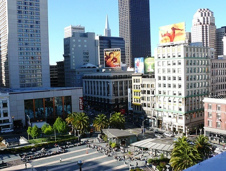 Union Square - Busy area