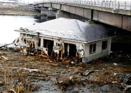 Earthquake on March 11, 2011 - Ruined homes
