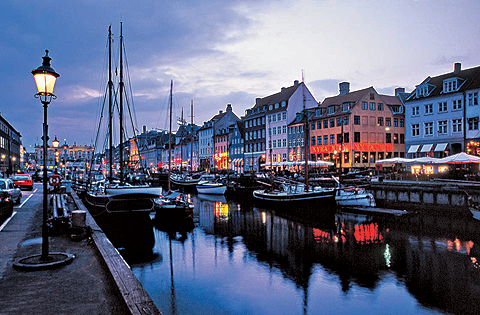 Copenhagen - Copenhagen night view