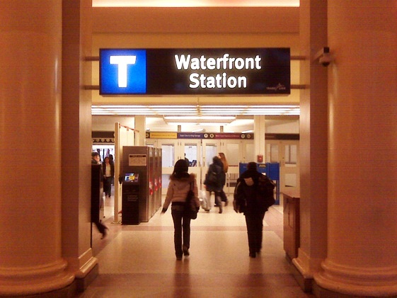 Waterfront Station - Interior view