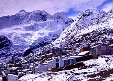 La Rinconada, Peru - Cold weather