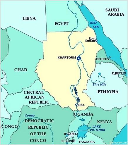 maps of sudan. Map Of Sudan. Map Of Sudan.
