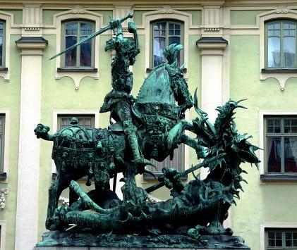 Gamla Stan (The Old Town) - Historical sculpture