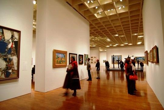visit to art museum