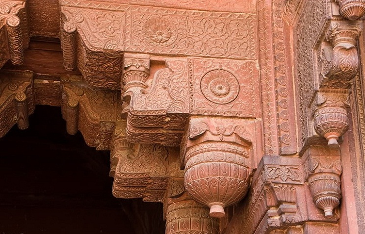 Agra in India - Agra Red Fort details