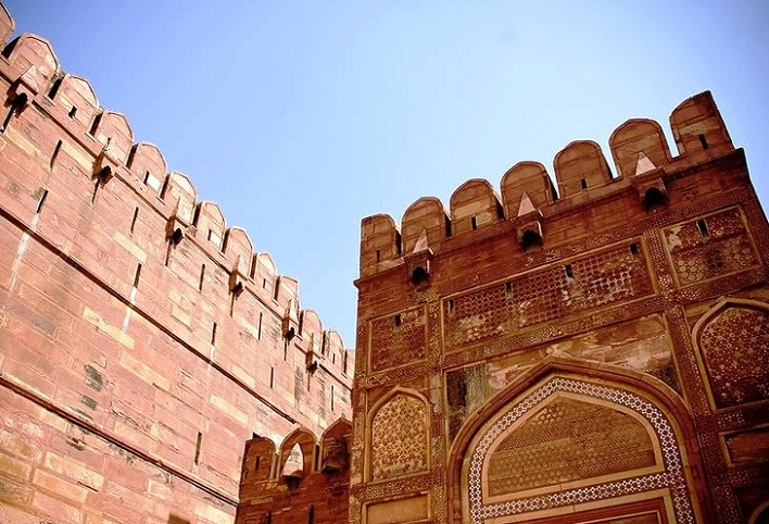 Agra in India - Agra Red Fort