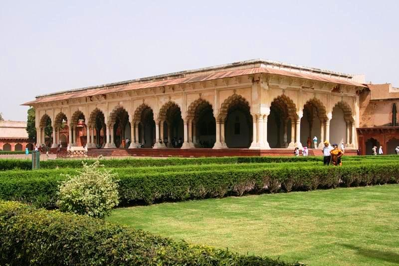 Agra in India - Ancient setting