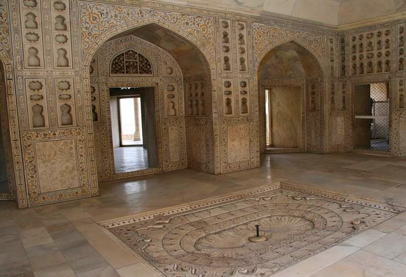 Agra in India - Architectural elements