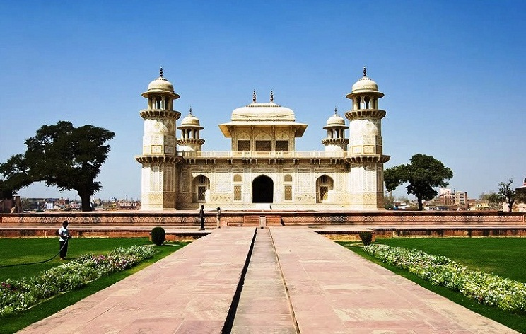 Agra in India - Itmad-ud-Daullah
