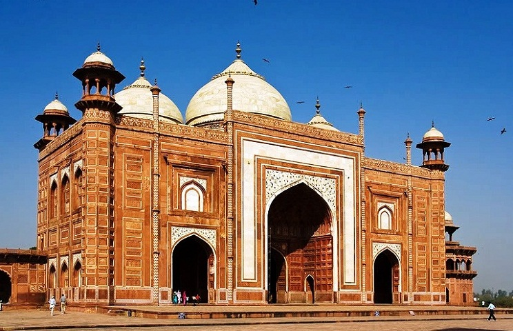 Agra in India - Mosque