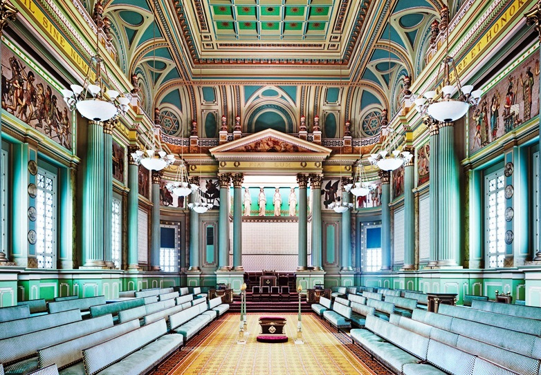 Masonic Temple   Interior Design