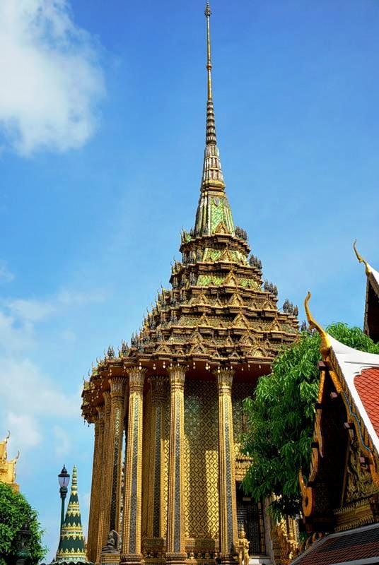Bangkok in Thailand - Phra Mondop, the library
