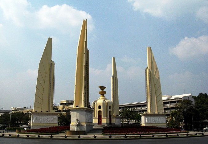 Images Bangkok in Thailand Democracy Monument 9636