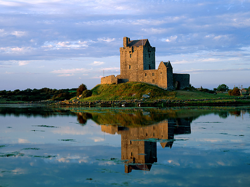 Ireland - Antique castle in Ireland