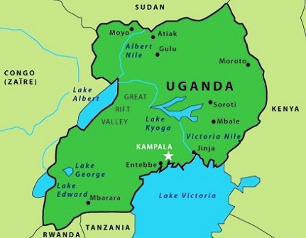 Images Uganda Map Of Uganda - Uganda map