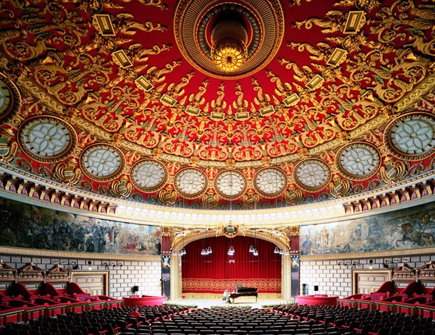 Romanian Atheneum - Interior view
