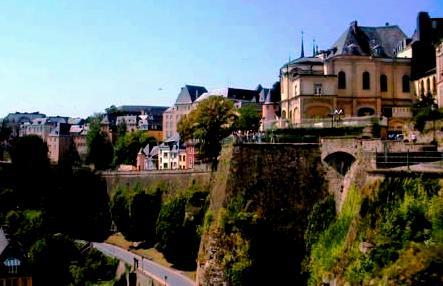 Luxembourg city - European capital
