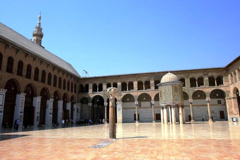 Damascus in Syria - Umayyad Mosque