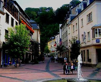 Clervaux town - Developed infrastructure