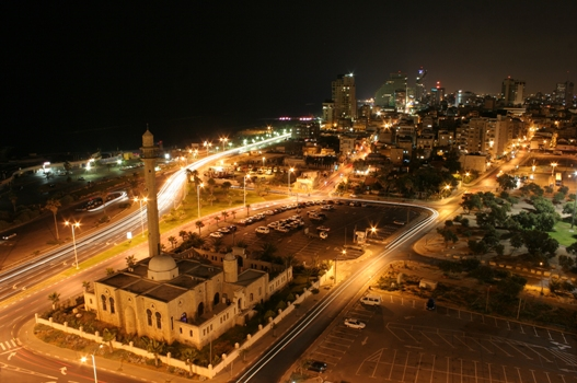 Tel Aviv in Israel - Aerial view