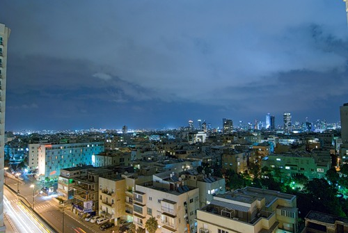 Tel Aviv in Israel - City view