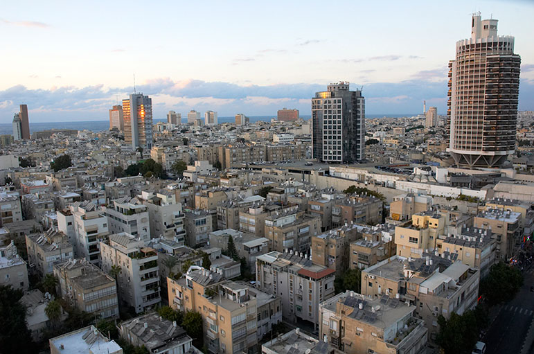 Tel Aviv in Israel - General view