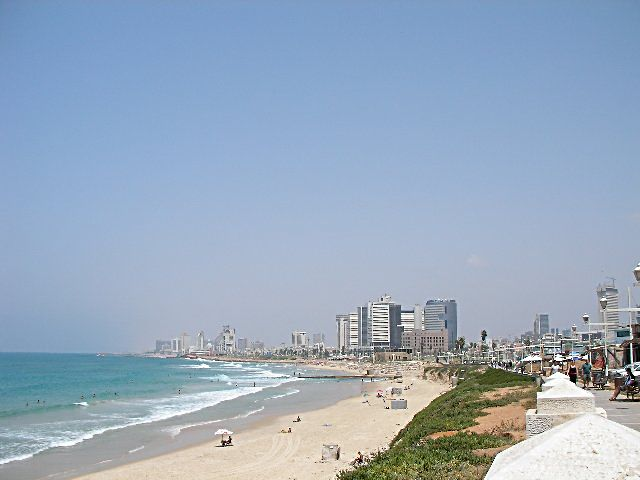 Tel Aviv in Israel - Great beaches