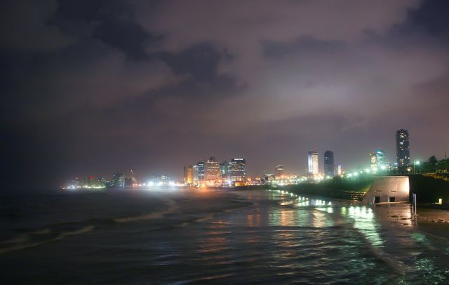 Tel Aviv in Israel - Night view
