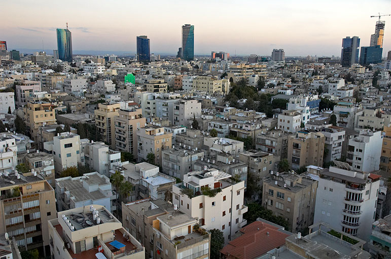 Tel Aviv in Israel - Overview
