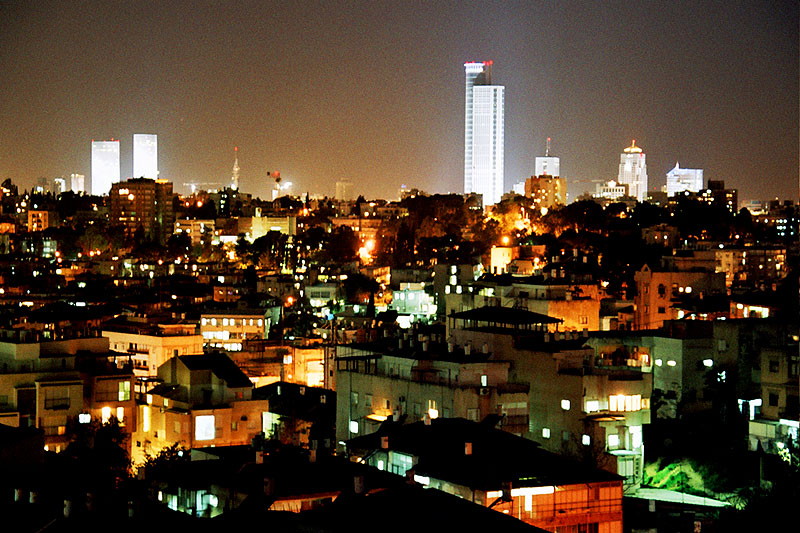 Tel Aviv in Israel - Tel Aviv at night