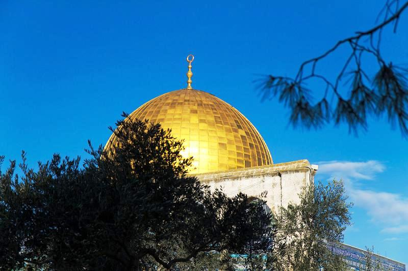 Jerusalem in Israel - Dome of the Rock
