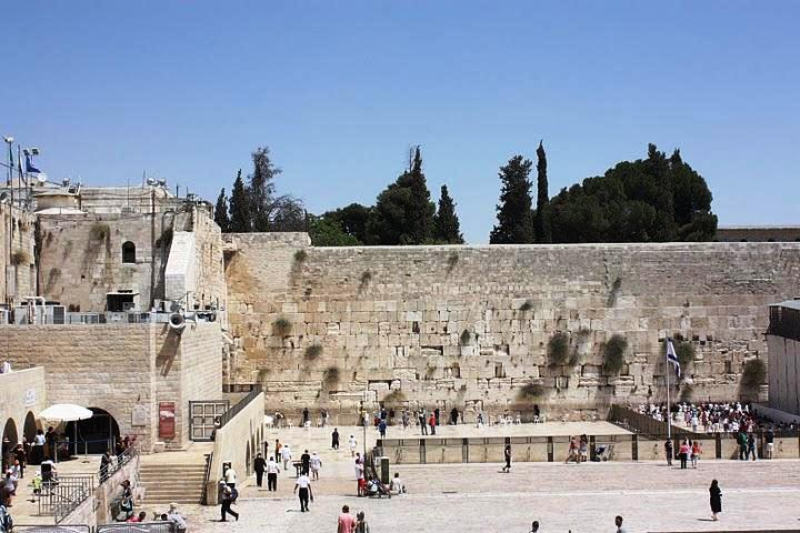 Jerusalem in Israel - Wailing Wall