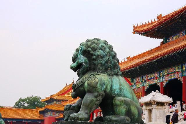 Beijing in China - Forbidden City