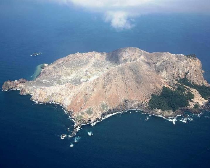 White Island  - From the air